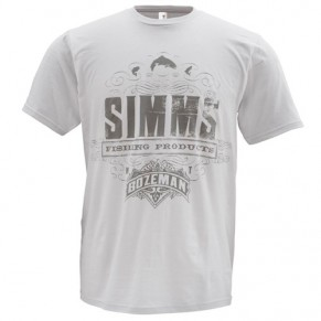 T-Shirt Insignia SS Grey XL футболка Simms - Фото