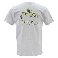 T-Shirt Trout Camo SS Ash Grey M Simms