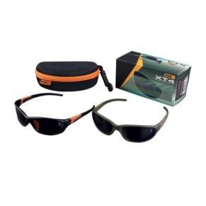 Sunglasses XT4 Black Frame/Brown Lense очки Fox - Фото