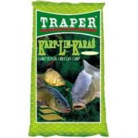 Простая 1кг. линь-карась прикормка Traper