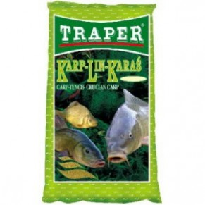 Простая 1кг. линь-карась прикормка Traper - Фото