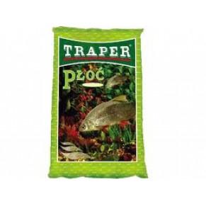 Прикормка простая 1кг. плотва Traper - Фото