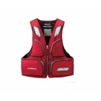 VF-154GR L Combo Washable FL Vest Red Nexus