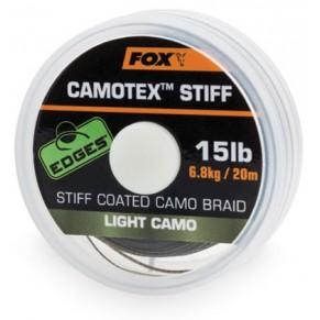 Camotex Light Stiff 15lb 20m поводочный материал Fox - Фото