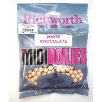 "03-18 ""WHITE CHOCOLATE"" 10mm Midi Boilies, Handy Packs 225g бойлы Richworth"
