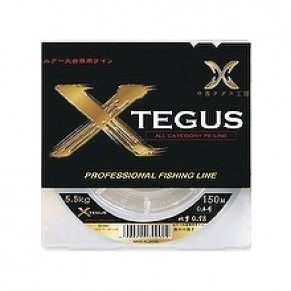 X-TEGUS 150m #0,3 5lb moss green шнур YGK - Фото