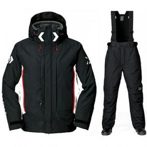 DW-3403 XL (LL) Rain Max Hyper High Loft Black костюм зимний Daiwa - Фото