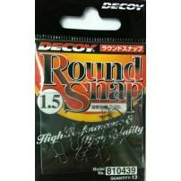 Round Snap 1.5 24lb 13 шт застежка Decoy