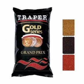 Gold 1кг Grand-Prix Black прикормка Traper - Фото