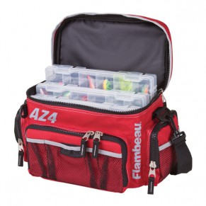 Soft Side Tackle System  AZ4 сумка с коробками Flambeau - Фото