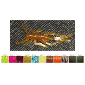 Кузнечик PL411 силикон Microfishing - Фото