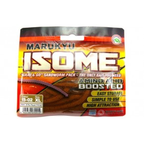 Isome Brown XL черви Marukyu - Фото