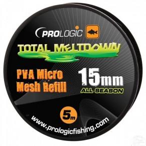 PVA All Season Micro Mesh 5m Refill 15mm ПВА-сетка Prologic - Фото