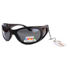 PSS 111 Matte Black- Grey солнцезащитные очки Extreme Fishing - Фото