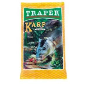 Sekret 1кг карп желтая прикормка Traper - Фото