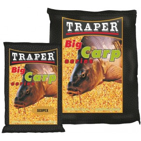 Big Carp 1,0kg ваниль прикормка Traper - Фото