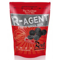 R-Agent and Force Liver Mix 14mm 1kg бойлы Rod Hutchinson