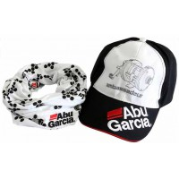 Baseball Cap/2nd Skin Kit black/white кепка Abu Garcia
