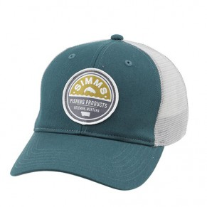 Patch Trucker Vintage Trout Juniper Simms - Фото