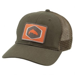 Patch Trucker Cap Loden кепка Simms - Фото