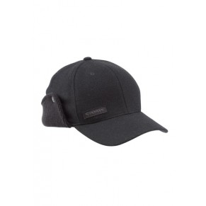 Wool Scotch Flexfit Flap Cap Black кепка Simms - Фото