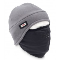 Face Mask Beanie Grey Simms