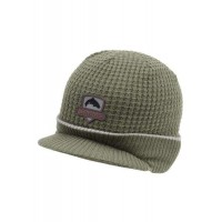 Trout Visor Beanie Olive Simms
