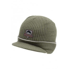 Trout Visor Beanie Olive шапка Simms - Фото