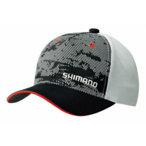 CA-041MBK Basic Cap Black кепка Shimano - Фото