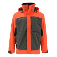 Challenger Bass Jacket Fury Orange XL, Simms
