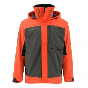 Challenger Bass Jacket Fury Orange XL, Simms - Фото