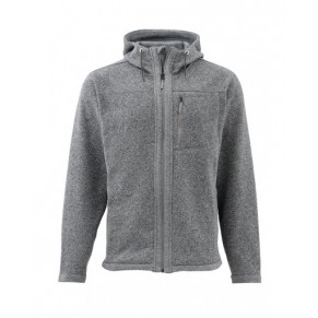 Rivershed Full Zip Hoody Smoke XL, Simms - Фото