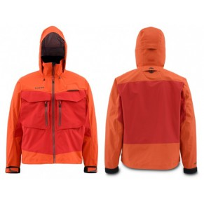 G3 Guide Jacket Gore-Tex Orange L куртка Simms - Фото