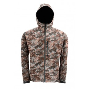 Windstopper Hoody Catch Camo Orange S Simms - Фото
