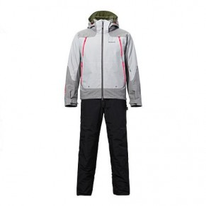 RB-014M XL Gore-Tex Master Warm Suit Stone Gray зимний костюм Shimano - Фото