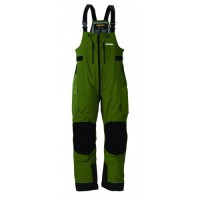 F4 Cyclone Rainsuit Bibs Green/Grey L Frabill