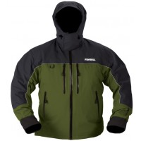 F4 Cyclone Rainsuit Jacket Green/Grey L Frabill