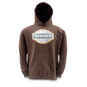 Pullover Hoody Cocoa M Simms - Фото