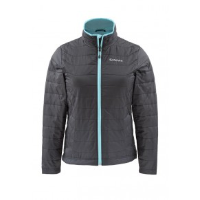 Womens Fall Run Jacket Black S Simms - Фото