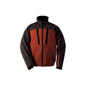 Windstopper Softshell Jkt Coal/Orange XXL куртка Simms - Фото