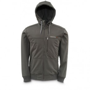 Rogue Fleece Hoody Coal XL Simms - Фото