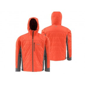 Kinetic Jacket Fury Orange L Simms - Фото