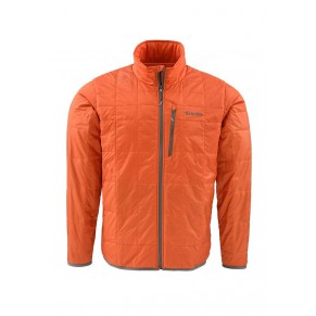 Fall Run Jacket Fury Orange L Simms - Фото