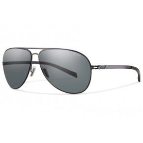 Optics Ridgeway Sunglasses Matte Gold/Polarized Gray Gradient, Smith - Фото