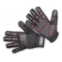 Armor Gloves 5 finger cut L перчатки Gamakatsu