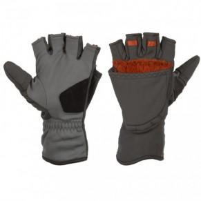 ExStream Foldover Mitt Dk Gunmetal M перчатки Simms - Фото