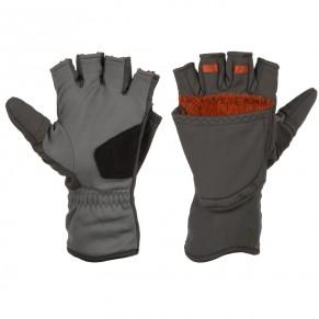 ExStream Foldover Mitt Dk Gunmetal L перчатки Simms - Фото