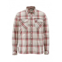 Kenai Shirt Ruby Plaid  XL рубашка Simms