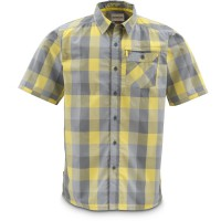 Espirito Shirt Wheat Block Plaid XXL, Simms