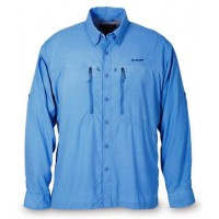 Bluewater Shirt Blue S рубашка